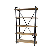 Lex 5 Level Shelf Natural, 8808856