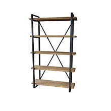 Lex 5 Level Shelf Natural, 8808856