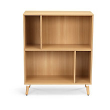 "Freya Four Compartment Bookshelf - 36""W, 8828882"