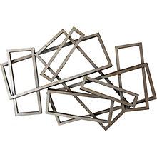 Metal Rectangles Wall Decor, 8808884