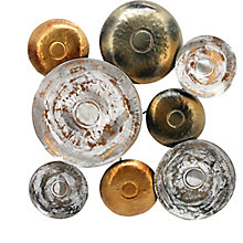 Metal Disc Wall Décor, 8823395