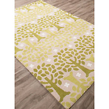 Iconic By Petit Collage Trees Area Rug - 5'W x 7.5'D, 8805251