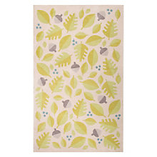 "Iconic By Petit Collage Foliage Area Rug 90""W x 114""D, 8805264"