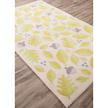 Iconic By Petit Collage Foliage Area Rug 5'W x 7.5'D, 8805252