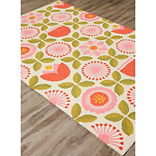 "Iconic By Petit Collage Joliet Area Rug 60""W x 90""D, 8805254"