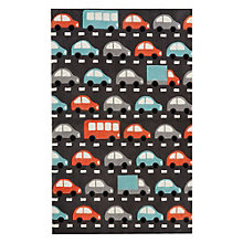 "Iconic By Petit Collage Traffic Area Rug 90""W x 114""D, 8805268"