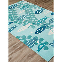 Iconic By Petit Collage Marine Area Rug 5'W x 7.5'D, 8805257
