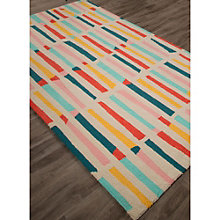 Iconic By Petit Collage Sticks Area Rug 5'W x 7.5'D, 8805260