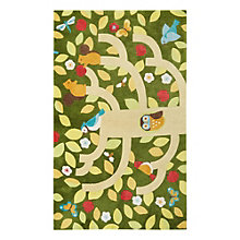 Iconic By Petit Collage Treetop Area Rug 7.5'W x 9.5'D, 8805273
