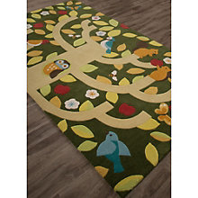 Iconic By Petit Collage Treetop Area Rug - 5'W x 7.5'D, 8805261