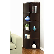 Contemporary Corner Bookcase, 8820077