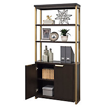 "Axis Bookcase With Lower Doors- 74""H, 8822617"