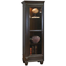 "Hartford Left Facing Half Bookcase - 24.5""W x 75.5""H, 8803152"