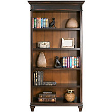 "Hartford Two-Tone Five Shelf Bookcase - 40""W x 78""H, 8803155"