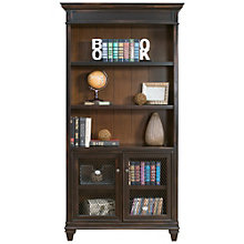 "Hartford Two-Tone Bookcase with Lower Doors- 78""H, 8803156"