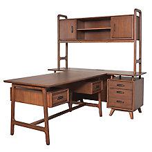 """NuHaus Complete Partners Desk - 60""""Wx30""""Dx30""""H, 8822609"""