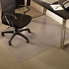 "Standard Chair Mat for Carpet - 3'9""W x 4'5""D , 8804501"