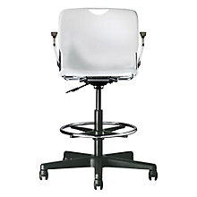 Addy Plastic Stool with Arms, 8813984