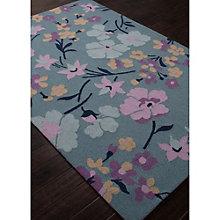 Brio Wild Floral Print Area Rug - 5'W x 7.5'D, 8805089