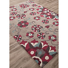 "Blossom Floral Print Area Rug - 60""W x 90""D, 8805082"