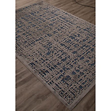 Fables Crosshatch Pattern Area Rug - 5'W x 7.5'D, 8805109