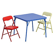 Colorful folding table set, 8812205