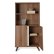 Four Shelf Bookcase with Doors, JES-10362