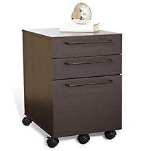 Tribeca Modern Two Drawer Mobile Pedestal, JES-10369