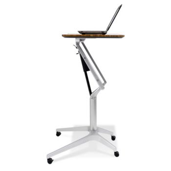 Mobile Adjustable Height Laptop Stand Officefurniture Com