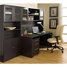100 Series Home Office Set with Bookcase, JES-10729