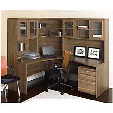 100 Series Complete Corner Workstation, JES-10732