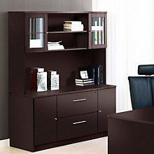 100 Series Credenza with Hutch, JES-10737