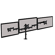 Triple Monitor Arms - Clamp or Grommet Mounted, 8827894