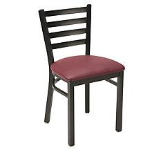 Metal Breakroom Chair with Vinyl Upholstery, KFI-3316