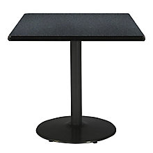 "Square Table with Black Base - 36""W x 36""D, 8813425"