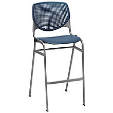 Perforated Back Polypropylene Stool , 8814353