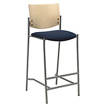 Wood Back Barstool, 8822656