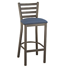 Ladder Back Cafe Stool with Steel Frame, KFI-BR3316U