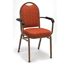 Round Back Banquet Stack Chair, 8814093
