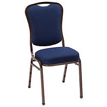Armless Winged Back Banquet Stack Chair, 8814095