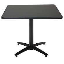 "Break Room Table - 48"" Square Top, KFI-T48SQ"