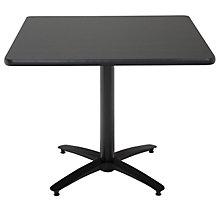 "Break Room Table - 48"" Square Top, KFI-T48SQ"