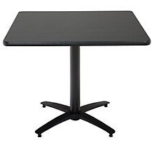 "Break Room Table - 36"" Square Top, 8802853"