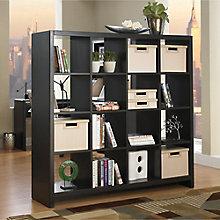 New York Skyline Bookcase Room Divider, BUS-KI10103