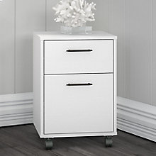 Bush Furniture Key West 2 Drawer Mobile Pedestal, 8828885