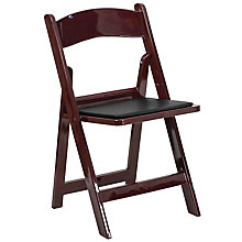 Mahogany, Red folding chair, 8812222