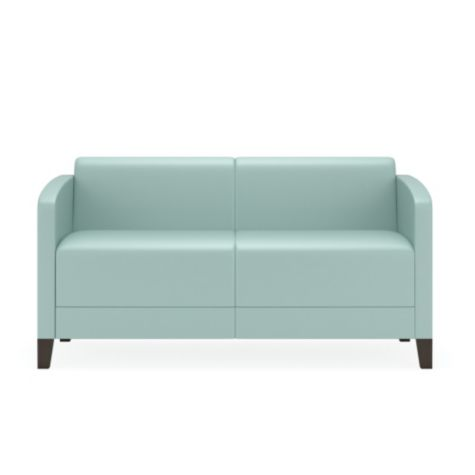 Shown in pastel teal
