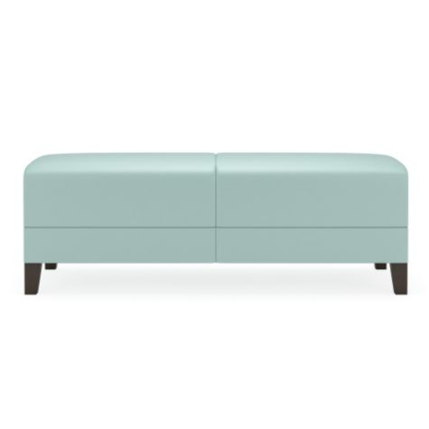 Shown in pastel teal (not offered)