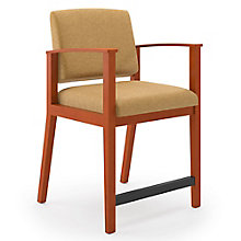 Amherst Vinyl Hip Chair, 8825759