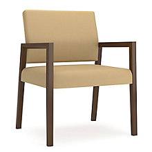Brooklyn Oversized Guest Chair in Fabric, 8804654